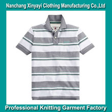 Garments Buyer in UK / Stripe Polo T-Shirt for Men / Clothes China Manufacturer