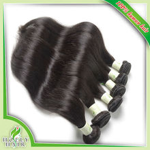 Heathy ends cheap brazilian straight hair extensions factory price