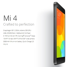 3G MIUI V5 Smart Mobile Phone mi4 64gb phone,Xiaomi Mi 4 5.0 inch cheapest Android phone
