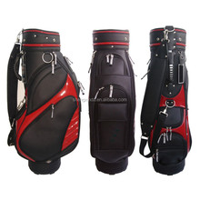 GBS-44 Factory desiger quality golf cart bag customized PU golf bag