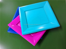 Disposable Plastic Square Plates 2015 Hot Sale Plastic Plates
