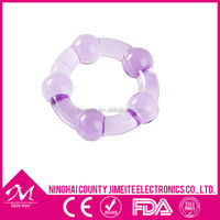 Men's silicone adjustable cock ring/silicone penis ring