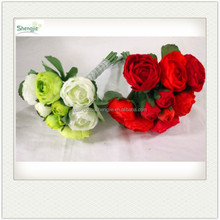 Artificial fabric flower stand for wedding