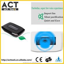 Smart Design Solar Car Dual Core Negative Oxygen-ion Bar Air Purifier Box(White)