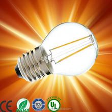lampadine filamento led 2015 Newest design 6w led filament bulb, e27/b22 A60 led filament lamp A19