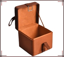 Square Gift Packaging Box With Woven Belt