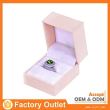 popular printing paper packaging, paper ring boxes wholeasele