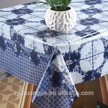2015 nueva impresión de la flor PVC mantel