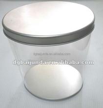 PVC/PET transparent plastic cylinder,display boxes