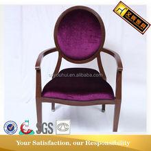 High density Foam Aluminum tube arm chair