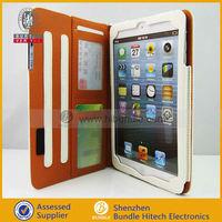 For Mini Ipad case ,card slots cover for ipad mini cover ,for Apple iPad mini accessory