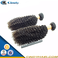 raw unprocessed wholesale top quality grade 5a 100% human kinky curly remy vrigin brazilian anna hair
