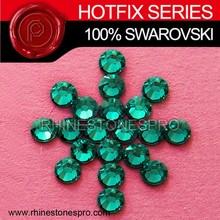 Swarovski Elements zircão azul cetim 8ss cristal ferro na pedra