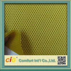 3D Spacer Air Mesh Fabric/sandwich mesh fabric for motorcycle seat cover