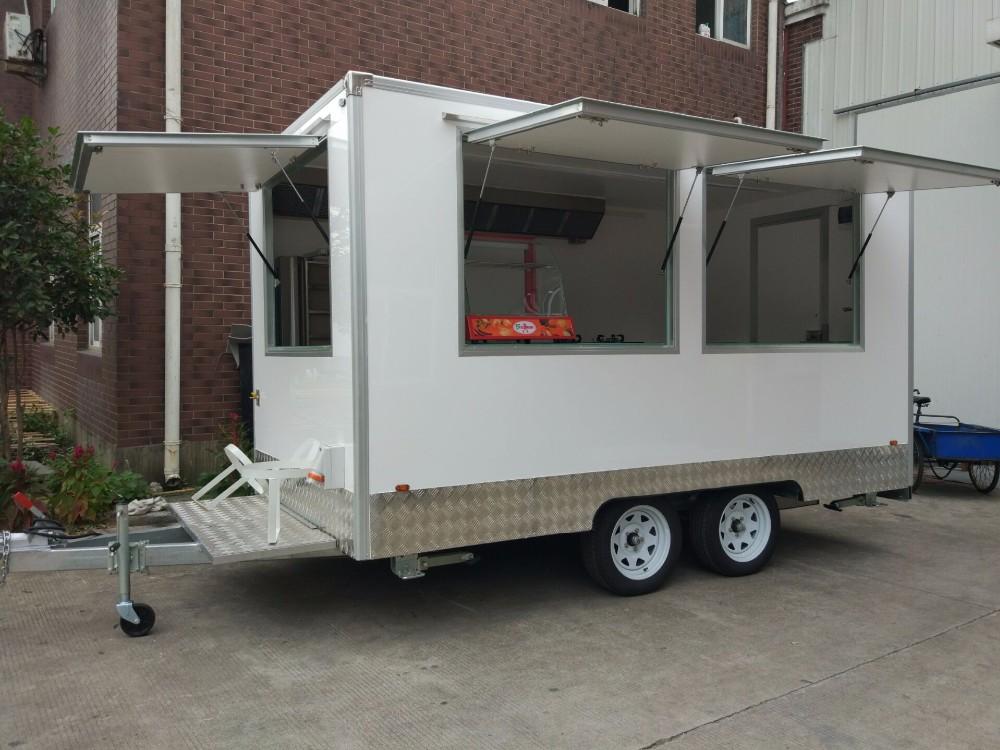 Camion de nourriture remorque collation alimentaire for Remorque cuisine mobile