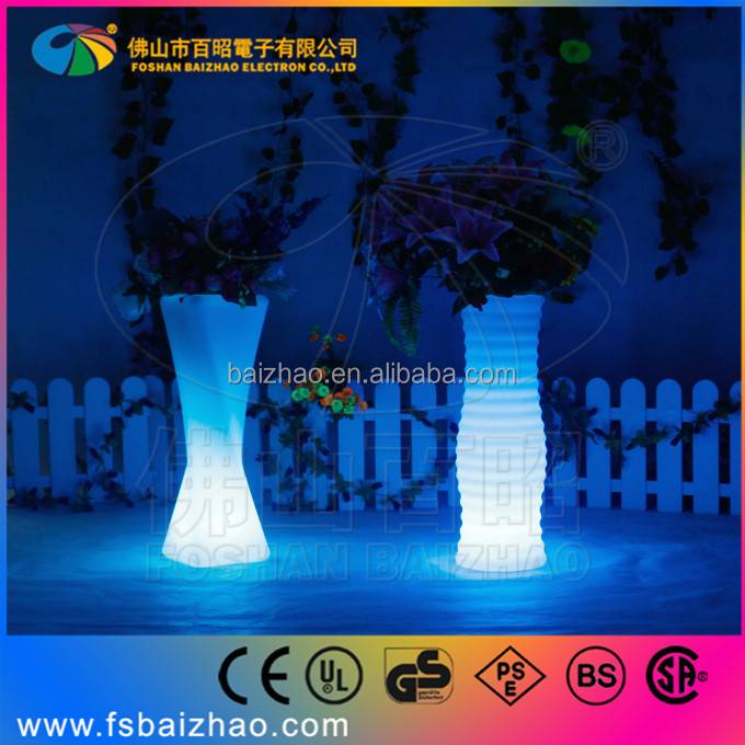 Flower Lights in Vase Vase With Led Lights/