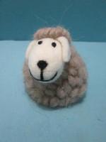 2015 100% handmade pure wool felt Christmas decor sheep