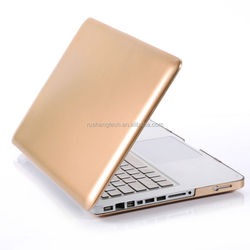 durable fashion metal hard shell case for macbook pro retina, OEM/ODM