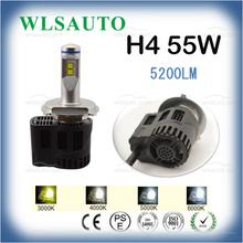 2016 LED Headlamp H4 H7 9005 9006 55W H4 LED HEADLIGHT 55W LED BULB CAR HEAD LIGHT