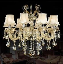 Zhongshan house crystal chandelier design modern crystal lamp