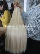Double Drawn!!!100% 16 Inches Straight Indian Remy Hair Extensions