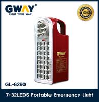 best quality camping led lantern,Led rechargeable led portable emergency light,1pcs 6V4AH sealed lead-acid battery