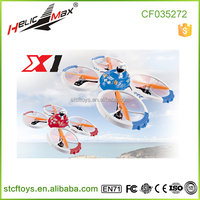 2015 Newest design!not larger scale Aircraft Carrier 2.4G 4ch rc quadcopter UFO with and gyro VS X30V