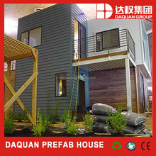 China high quality modern prefabricated house/prefab container home for sale