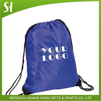 Factory Price whoelsale polyester bag/drawstring bags/cute drawstring backpack bag