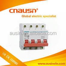 Popular SB1-63 4poles number electrical circuit breaker dz47