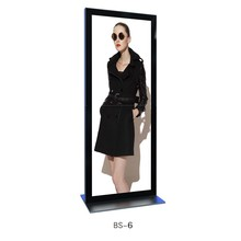 Aluminum-alloy advertising stand backdrop with light box