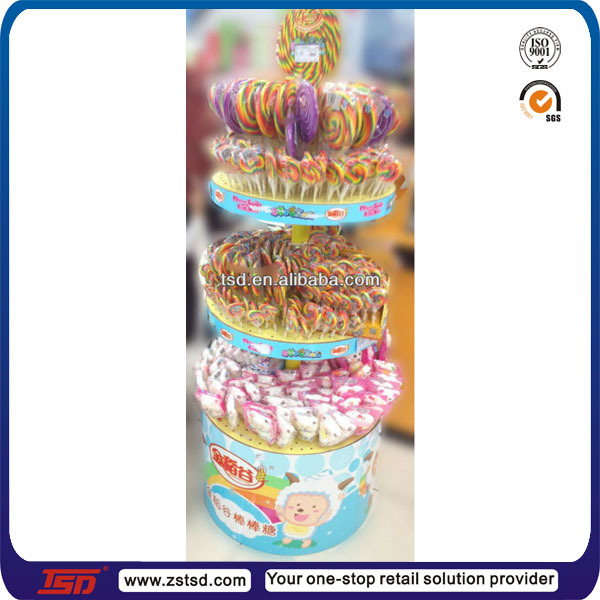 Tsda40 Factory Supply High Transparent Desktop Acrylic Lollipop Magnificent Lollipop Stands Display