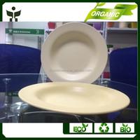 biodegradable smart dish eco-friendly plate bamboo dish
