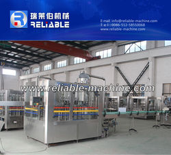 3 IN 1 Automatic Hot Tea Filling Machine For Plastic Bottle