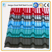 GI Steel Coil Galvanized Metal Roofing sheet Building Material Zinc Roof Sheet Corrugated Plate Material