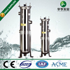 stainless steel polyester bag filter housing for liquid filtration