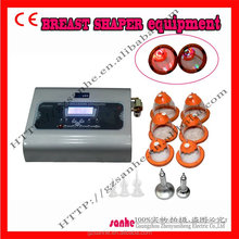 2015 new portable lady vacuum breast enlargement machine with vibration
