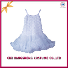 Manufacture White color Beautiful Ball party Girl Tutu Dresses