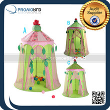 2015 Summer new design play house indoor play tent princess castle play tent