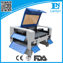 Strip panel/honey comb co2 laser cutting machine for acrylic/wood/fabric/le