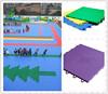 Factory price outdoor kindergarten flooring, playground outdoor floor tile
