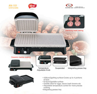 Electric Grill Pan With Thermostat Contoller Under European Safety Certs. Approaval