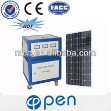 OP600W 2013 hot sale plug and play solar home system