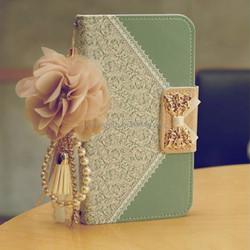 Leather Case for Samsung Galaxy S6 Wallet Case Luxury Purse Women Shoulder Bag Phone Case