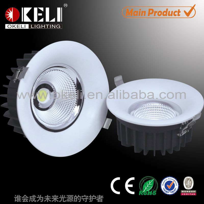 china wholesale led recessed downlight 10w led downlight in factory