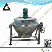 Gas Heating Jacket Kettle Cooking Pot