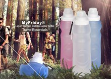 Hot mini cooler silicone gym water bottle with strap
