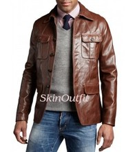 Mens leather Blazers selecting efficent