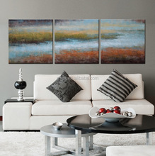 handmade natural scenery painting on canvas