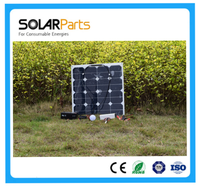 50W Off-grid Solar protable Lighting System For Home Indoor And For Outdoor Lighting